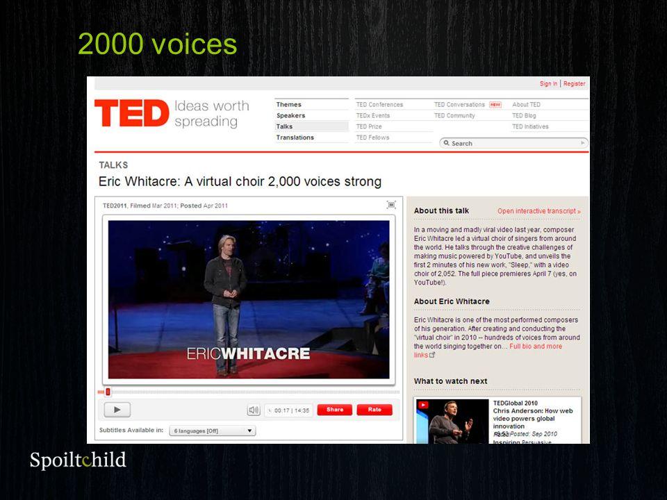 2000 voices