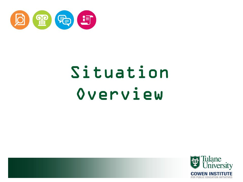 Situation Overview