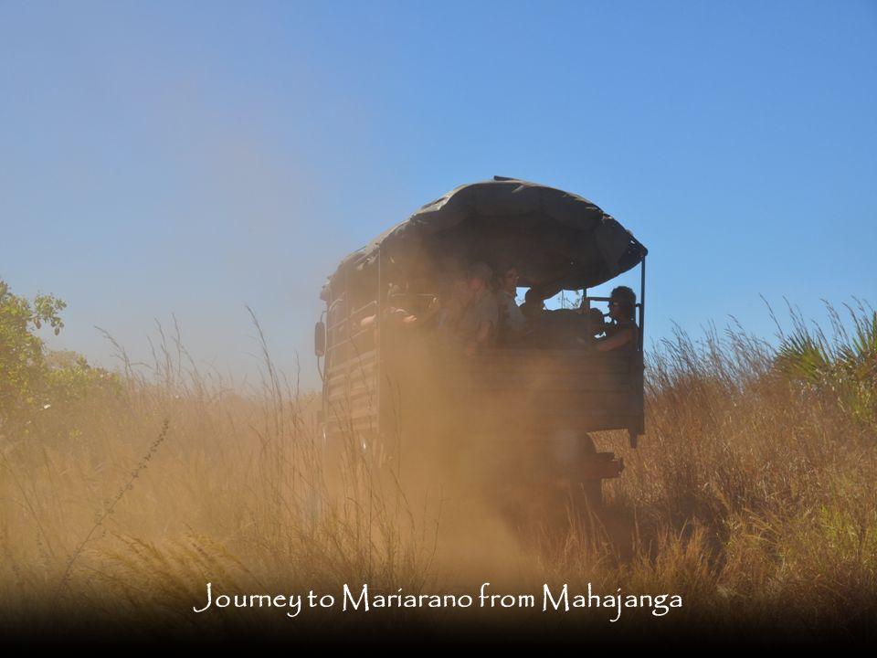 Journey to Mariarano from Mahajanga
