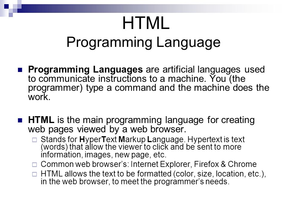 How Does HTML Work.
