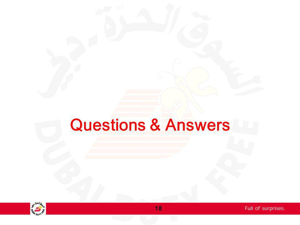 Questions & Answers 18