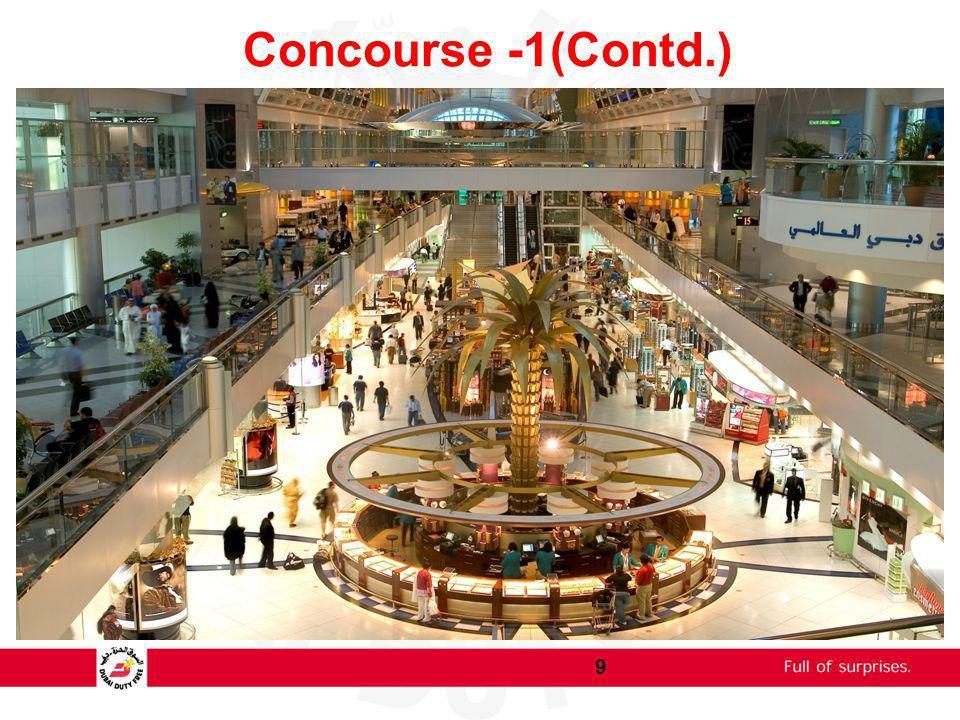 Concourse -1(Contd.) 9