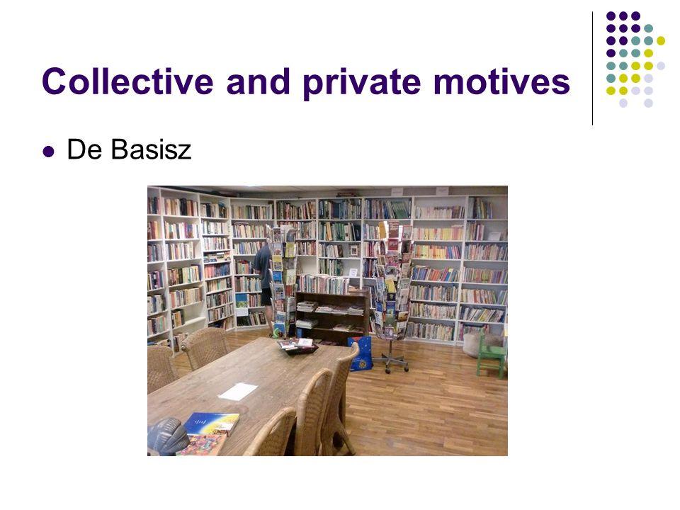 Collective and private motives De Basisz