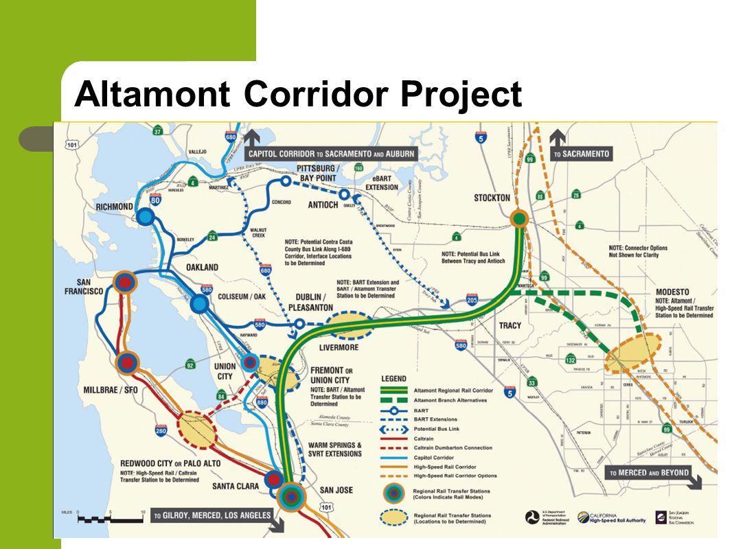 Altamont Corridor Project