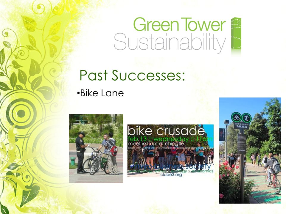 Past Successes: Bike Lane