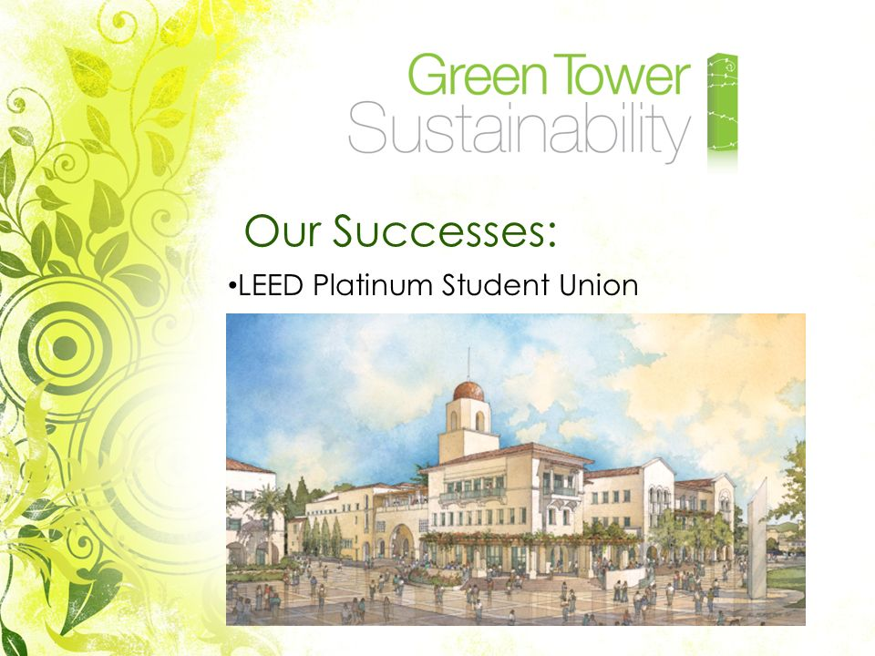 Our Successes: LEED Platinum Student Union