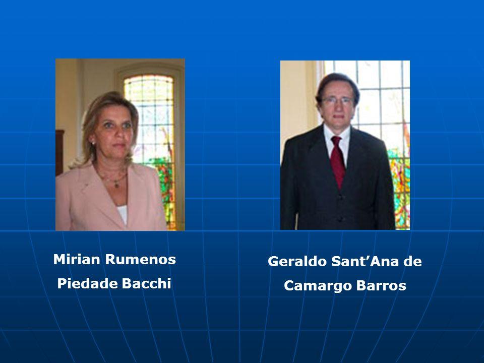 Geraldo SantAna de Camargo Barros Mirian Rumenos Piedade Bacchi