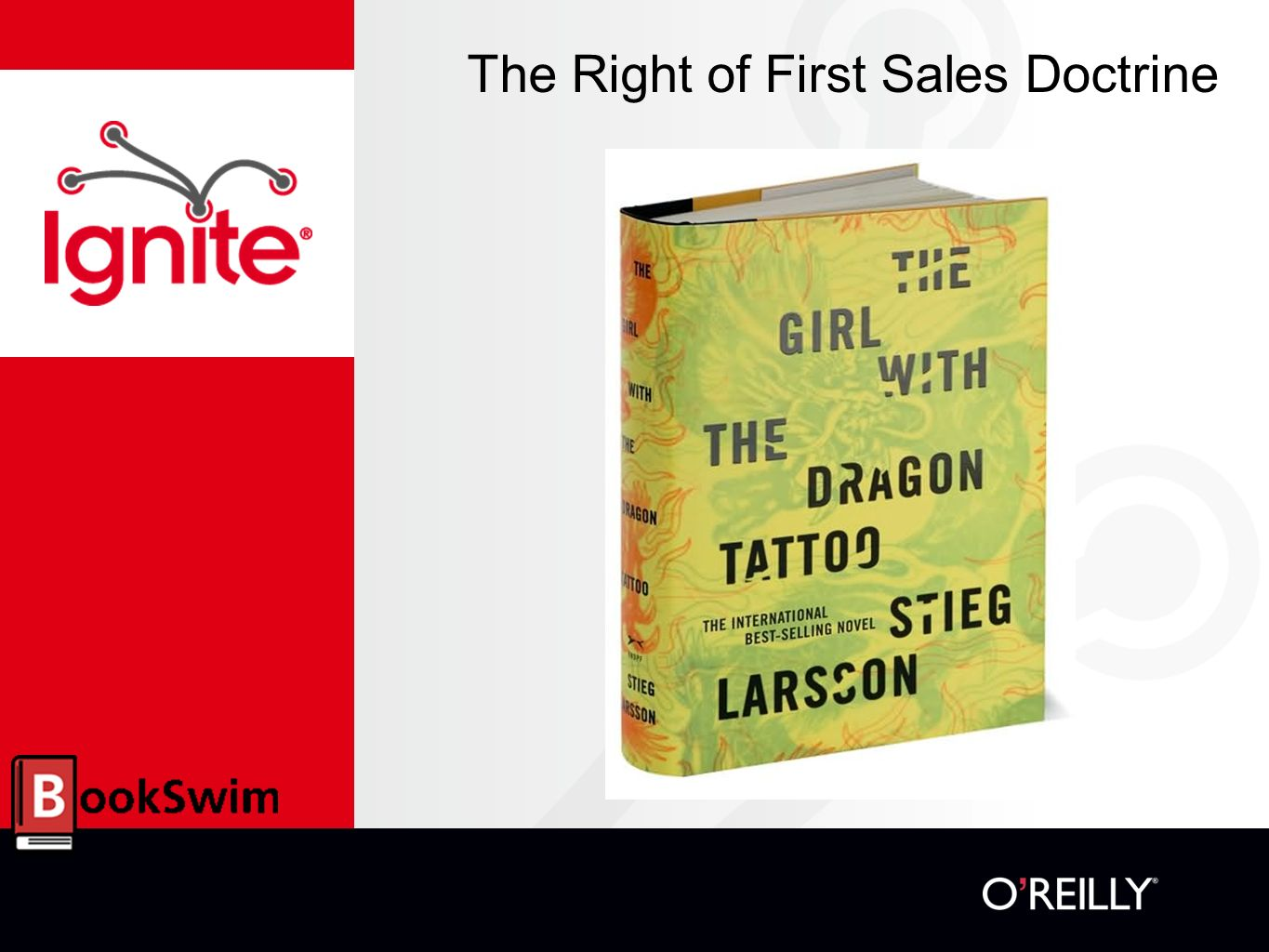 The Right of First Sales Doctrine