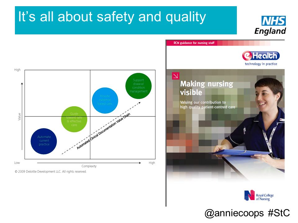 Its all about safety and quality @anniecoops #StC