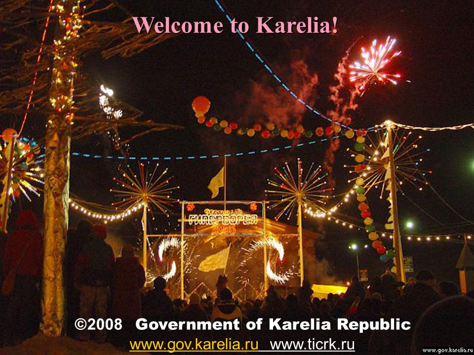 Welcome to Karelia.