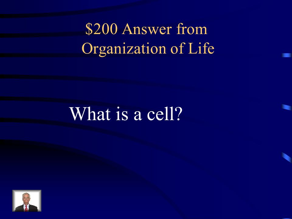 $200 Question from Organization of Life There are many kinds of these – nerve is an example.