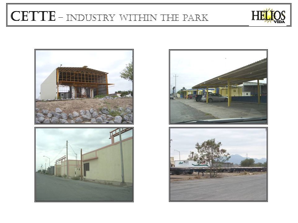 CETTe – industry within the park