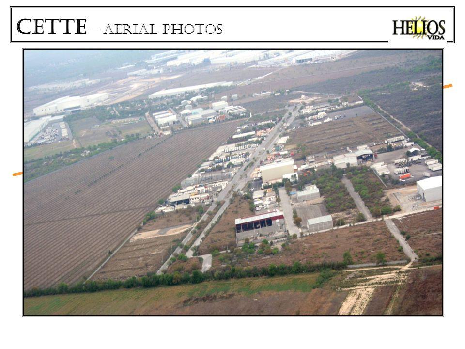CETTe – aerial photos CARRETERA SALINAS VICTORIA - AEROPUERTO CETTE LOTES INDUSTRIALES Área vendible 51,000 M2