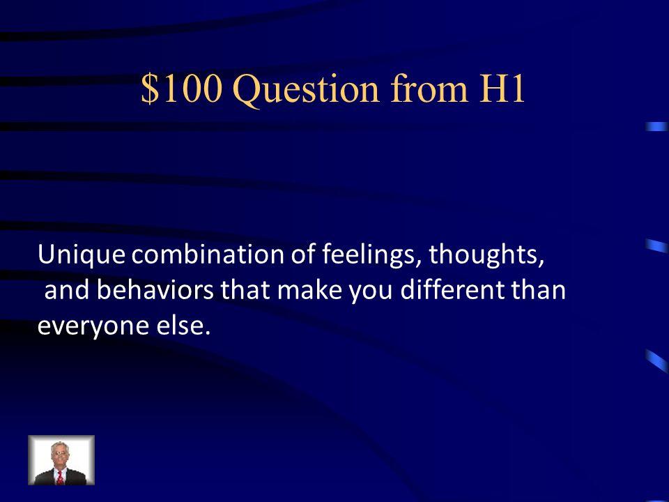 Jeopardy I AMEmotionsStressDisorders Help Q $100 Q $200 Q $300 Q $400 Q $500 Q $100 Q $200 Q $300 Q $400 Q $500 Final Jeopardy
