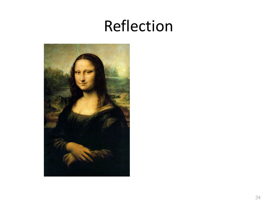 34 Reflection