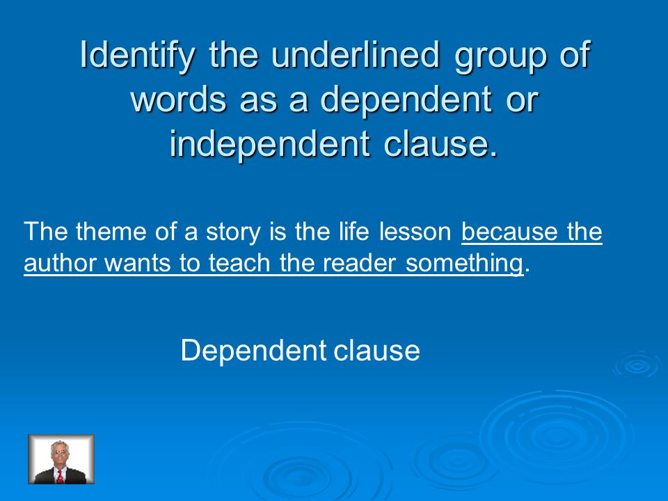 A dependent clause does not express a complete thought and can not stand alone as a sentence. Is this a dependent clause? Because we liked to take pic