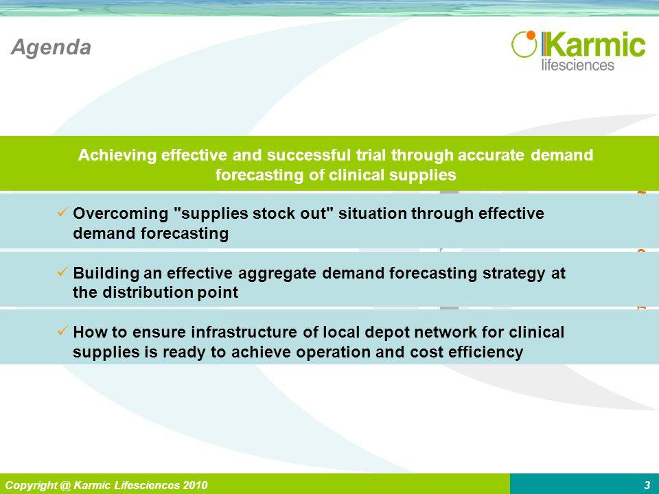 L Enabling > Global Pharma Copyright @ Karmic Lifesciences 20103 Agenda Overcoming