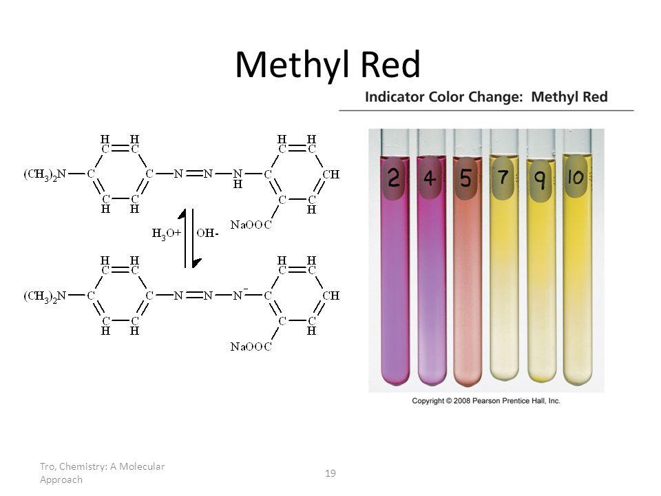 Tro, Chemistry: A Molecular Approach 19 Methyl Red