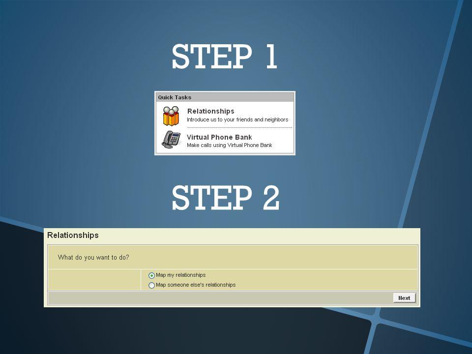 STEP 1 STEP 2