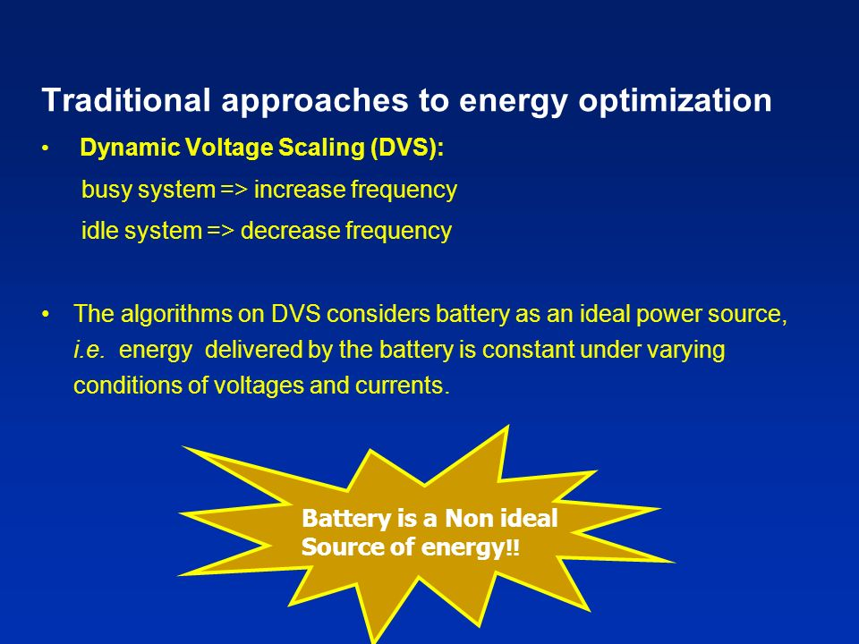 i+j (total charge in the battery) i (available charge) Determining parameters i and j