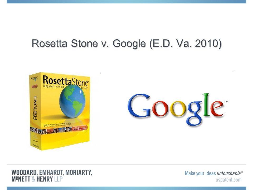Rosetta Stone v. Google (E.D. Va. 2010)