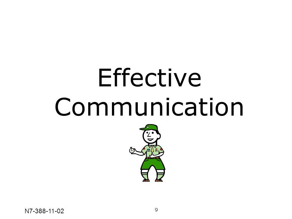 N7-388-11-02 Effective Communication 9