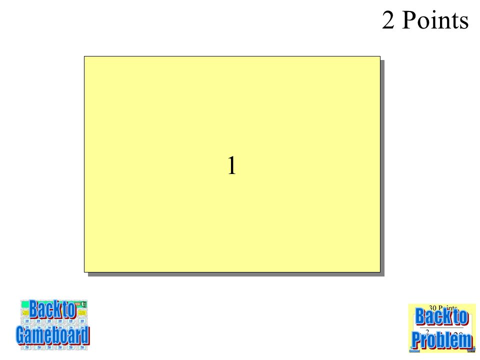 In the equation y = 2x -7, if the input is 4, what is the output? 2 Points 3-2Q