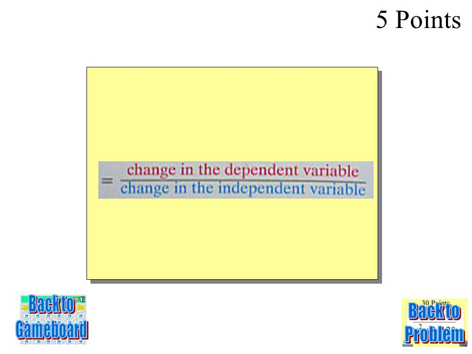 5 Points 4-5Q RATE OF CHANGE = ? ?