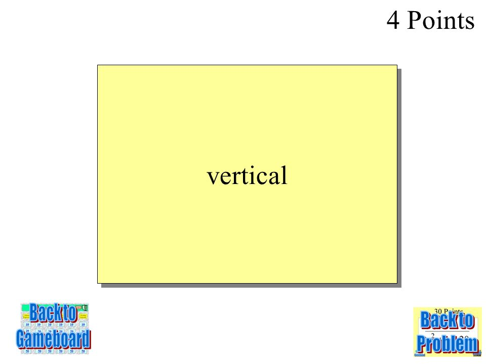 This line has an undefined slope 4 Points 5-4Q