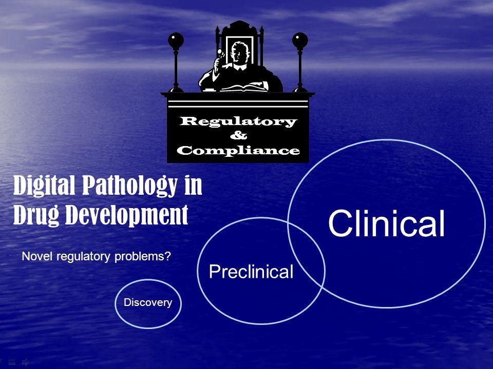 www.flagshipbio.com Discovery Preclinical Clinical Regulatory & Compliance Digital Pathology in Drug Development Novel regulatory problems?