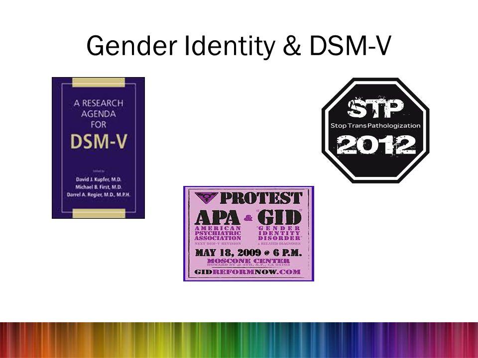 Gender Identity & DSM-V