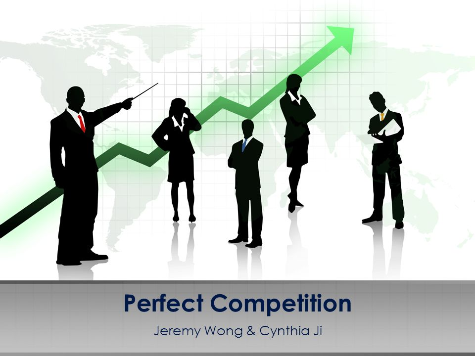 A market where no participants are large enough to set the price of a product Many conditions exist for a perfectly competitive market Therefore there are few if any, truly competitive markets Mainly used as a benchmark for other market structures Lets take a look at some of the conditions of a perfectly competitive market.