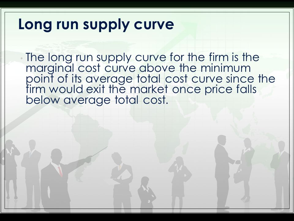 Shift in Demand in the Short Run and Long Run An increase in demand raises price and quantity in the short run.