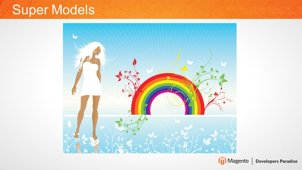 What are Models in Magento.