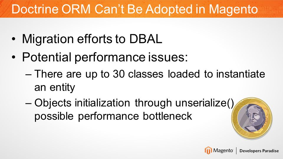 Can Doctrine ORM Be Adopted in Magento.