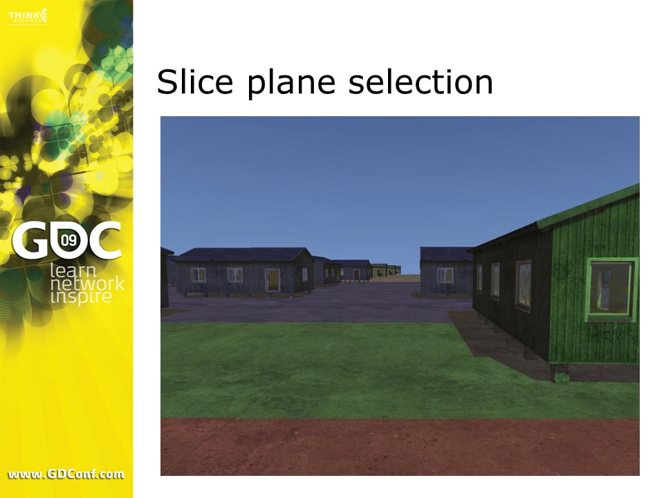 Slice plane selection