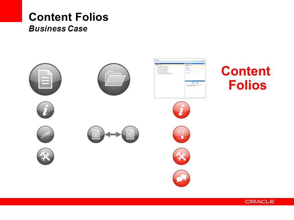 Content Folios
