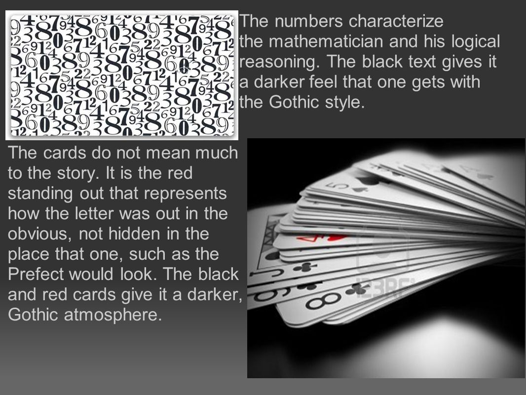 The cards do not mean much to the story.