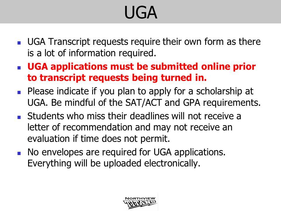 Help with my UGA essay?