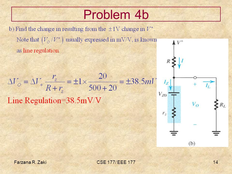 Farzana R. ZakiCSE 177/ EEE 17714 Problem 4b