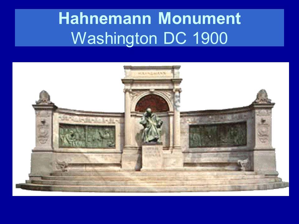 Hahnemann Monument Washington DC 1900