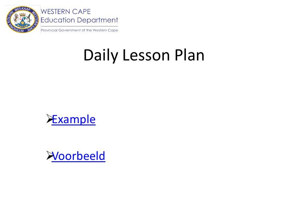 Programme of Assessment