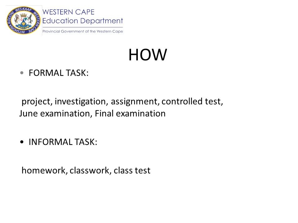 When Last 15 minutes of a period (e.g.classwork) First 5 minutes of a lesson (e.g.