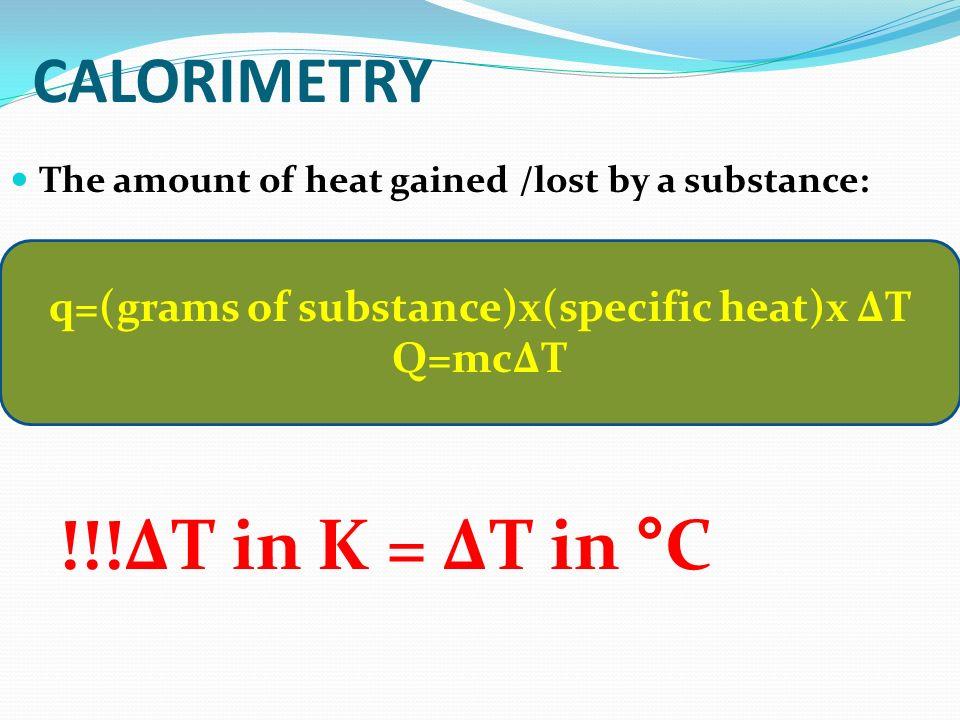 When a substance gains heat - its temperature rises.