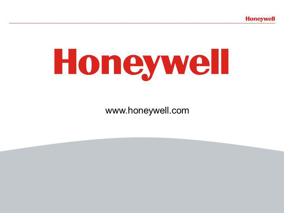 40HONEYWELL - CONFIDENTIAL www.honeywell.com