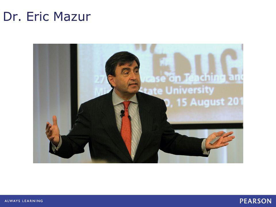Dr. Eric Mazur