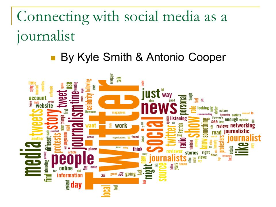 Key components to social media Anything and Everything can become social media Start and become the conversation Capitalize on the conversation Social media is opportunity at its finest Become a resource Making connections
