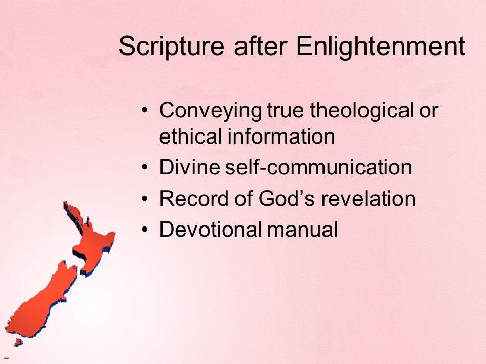 Tool of Gods Mission What role does Scripture play in the accomplishment of Gods mission to restore creation and human life.