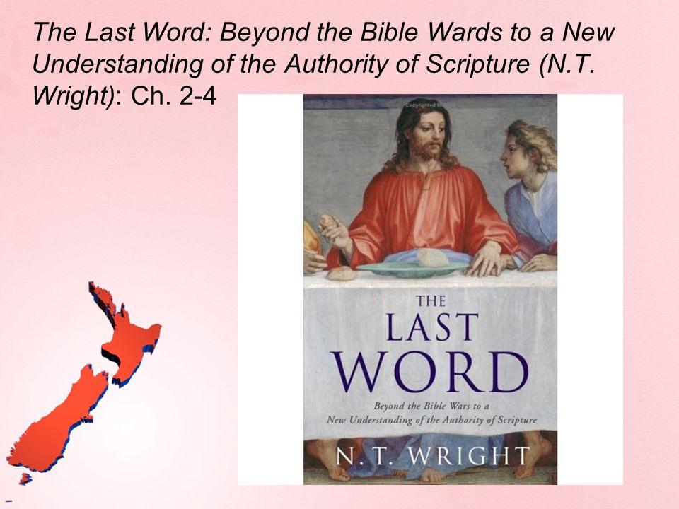 Old Testament Scriptures...