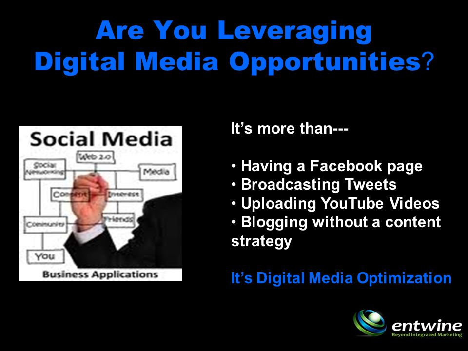 Are You Leveraging Digital Media Opportunities .